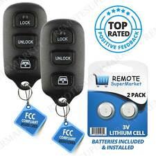 2 For Toyota 4Runner 1999 2000 2001 2002 2003 2004 Remote Keyless Entry Key Fob