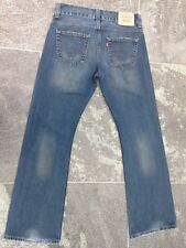 LEVI'S 512 BOOTCUT  BLUE JEANS W 32 L 32 VERY GOOD CONDITION!!!!!!!
