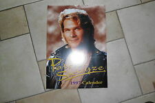 Patrick Swayze Kalender 1997,ovp in Folie, 42 x 30 cm Posterkalender