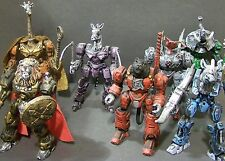 Custom lot of 7 BATTLE BEASTS  third party Takara Transformers