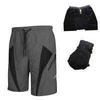 SOBIKE Men Padded Cycling Underwear Underpants Bike Shorts Pants Black-Porter Ⅱ
