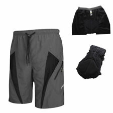 Santic Men Cycling Bike Polyester Casual Shorts 1/2 Leisure Pants with Padded