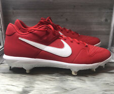 Nike Mens Alpha Huarache Varsity Low Metal Baseball Cleats Size 13 AO7960-601