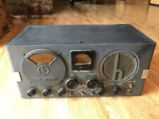 Hallicrafters S-20R Sky Champiom Ham Receiver For Parts/Restoration SN HA-98764