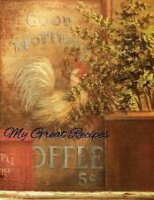 My Great Recipes: Vintage Sign by Journals, Wm -Paperback
