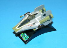 STAR WARS A-WING FIGHTER GREEN TITANIUM SERIES DIE-CAST LOOSE COMPLETE