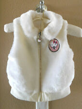 2007 Hello Kitty Reversible Vest Jacket Faux Fur/Vinyl Coat Size: XS