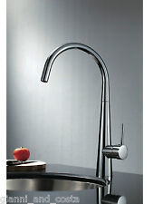 Kitchen Laundry Basin Mixer Tap with Swivel Gooseneck Round Lollypop Model Sala