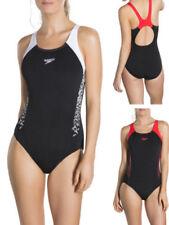 Speedo Swimming Costumes Scoop Neck Swimwear for Women