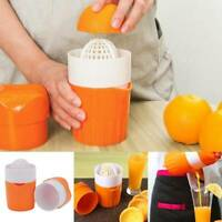Hand Press Orange Juicer Manual Fruit Machine Citrus Lemon Squeezer Tools UK