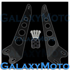 "Jeep JK 07-15 Wrangler Off Road 10"" LED Light bar Hood Mount Brackets Pair 2015"