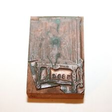 RCA Cabinet Radio Printer Block #685