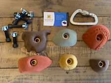 Six New Rock Climbing Holds with Hardware.