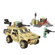 Military Wheeled Armored Vehicle Building Blocks Kids Toy Car Bricks 451pcs