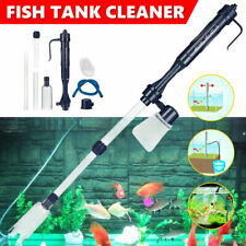 Electric Aquarium Fish Tank Cleaner Siphon Pump Water Change Gravel Vacuum Clean