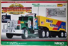 NIKKO 18 WHEELER BT TRAILER TRUCK 1:24 RADIO CONTROL R/C TOY 90'S from Japan