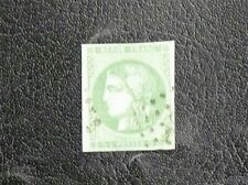 TIMBRES DE FRANCE : 1870/71 YVERT N° 42B - 5 CENTIMES VERT JAUNE CERES - TBE