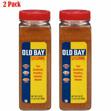 2-Pack of 24 oz Old Bay Seasoning For Chicken, Seafood, Meat or Salad