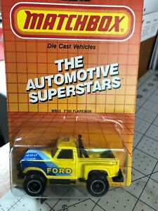 483 -Matchbox Die-Cast Metal-Auto Set of 4 1987 New Free Shipping