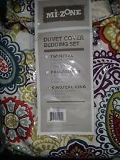 Paisley Medallions & Floral Duvet Cover Bedding Set.king/cal king.No Pillow