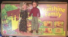 Vintage 1974 Mattel The Sunshine Family Home with Mom and Dad Mattel