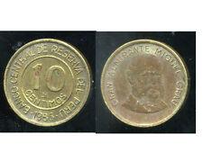 PEROU  10  centimos  1986  ( bis )