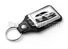 WickedKarz Cartoon Car Vauxhall Corsa MK3 Nurburgring in White Key Ring
