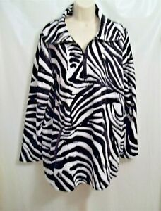 Woman's, Plus Size 1X Light Pullover Jacket by Ruby Rd.