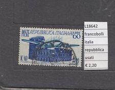 FRANCOBOLLI ITALIA  REPUBBLICA  USATI   (L18642)