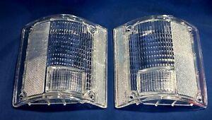 CLEAR Tail light Lenses 73 - 91 Chevy GMC Pickup Suburban Jimmy Blazer C/K C10
