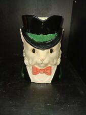 Fitz & Floyd Kittens of Knightsbridge Cat~Top Hat and Bow Tie 1 1/4 Qt Pitcher