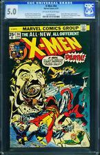 X-men #94 CGC 5.0-2nd Storm & Colossus -1975 0204543001
