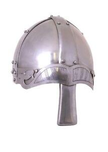 Spangenhelm mit Nasal 2mm Stahl schaukampftauglich