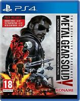 Metal Gear Solid V 5 - The Definitive Experience | PS4 BRAND NEW SEALED