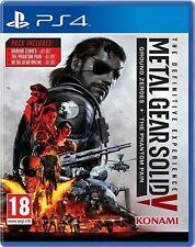 Metal Gear Solid V 5-la experiencia definitiva | PS4 Nuevo Sellado