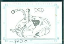 Farscape Season 3  DRD Sketch Card by Pablo