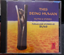FLUTES & STORIES this being human - poems and stories of rumi CD VGC FREE UK P+P