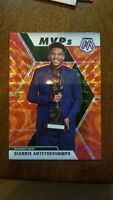 2019-20 Mosaic Giannis Antetokounmpo MVP Orange Reactive Prizm