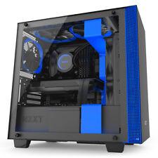 Nzxt Ca-h400w-bl H400i torre negro azul carcasa de ordenador