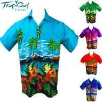 Dolphin Mens Hawaiian Shirts Cruise Party