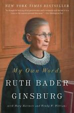 My Own Words By Ruth Bader Ginsburg (English) NEW Paperback Book Free Shipping