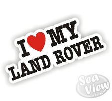 I Heart Love mi Discovery Land Rover Defender Lrx 4x4 coche van Sticker Decal
