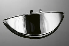 CHROME 5.5 INCH (140mm) MOTORCYCLE / BOBBER HEAD LIGHT VISOR / PEAK (66-053)