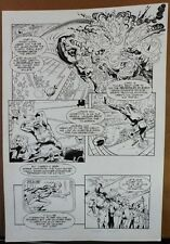 HAMMER OF GOD: PENTATHALON #1 PAGE 2 1994 ORIGINAL ART-NEIL VOKES & JAY GELDHOF Comic Art