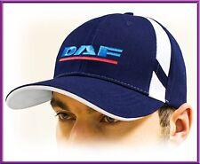 DAF truck Baseball Unisex Cap! Blue color, 100% cotton, Adjustable size!