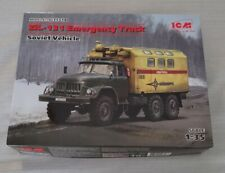 1:35 ICM ZiL-131 Emergency Truck Soviet Vehicle