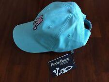 PSYCHO BUNNY CURVE DARK TEAL   BASEBALL CAP ( one size) $ 48
