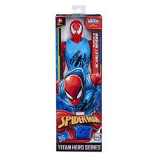 SPIDER-MAN FIGURA TITAN SCARLET SPIDER