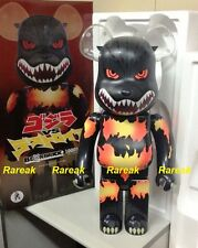 Medicom Be@rbrick 2016 Warner Bros 1000% Godzilla Desgodzi Burning ver bearbrick