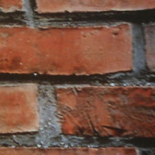 Fablon Fab1022245 Cm X 2 M Brick Wall Roll Red